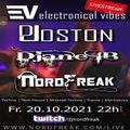 EVT#035 - electronical vibes radio with Joston, DJane IB & NordFreak