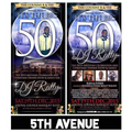 DJ RATTY Big 50th - 5th AVENUE