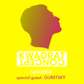 KWADRAT Concept x GURETSKY @RigaRadio 2014.06.14