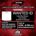 NCDNB Sunday Sessions - 11/08/20 - Wanted ID Guest Mix