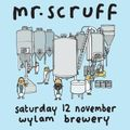 Mr. Scruff at Wylam Brewery, Newcastle, Saturday 12th November 2016