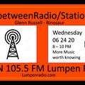 InbetweenRadio/Stations #110 • Glenn Russell & DJ Binosaur • Quarantunes Part 4 • 6/24/2020