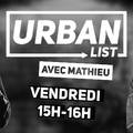 La Urban List sur Road FM