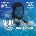 Javi Bora DJ Set - Space Ibiza 25th Anniversary Tour @ Pátio Da Galé (Lisbon, Portugal) 06.12.2014
