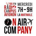La Matinale - On Air Company - Radio Campus Avignon - 08/01/2014