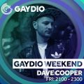 The Gaydio Weekend // Dave Cooper: In The Mix // Friday 9PM // 25-06-21