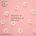 Surviving Social Distancing Vol. #2: Kindness as contagious as the virus