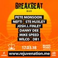 Rejuvenation Breakbeat Bar 17th Mar 2018
