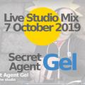 7 Oct, 2019: Secret Agent Gel in the studio