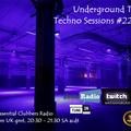 Underground Takeover Techno Sessions #22 ECR1 27/07/2021