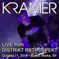 DJ Kramer - Live @ DISTRIKT RETROSPEKT (with Crowd) - October 11, 2014