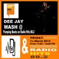 DJ Mash Live @ Pumping Beats on Radio Hits 88.2 (1-3-2013)