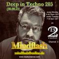 Deep in Techno 205 (30.08.21)