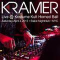 DJ Kramer - Live @ Kostume Kult Horned Ball 2015 - NYC - April 4,2015