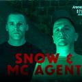 Dj Snow @ Mc Agent - arena dnb promo mix 2019