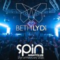 Beth Lydi at Spin San Diego / SNOE x Front Left Productions