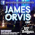 Secret Sub Rosa at Willowman Festival 2018 - James Orvis Live