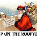 """BigFootBridges proudly presents """"Up On The RoofTop / The Christmas Miracle Mix"""" December 25th 2020"""
