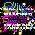 Andy Daniels YDNY 3rd Birthday Mix Feb 2020