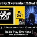 Club Ibiza 21/11/2020 dj Alessandro Garofani