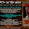 Hard Rock Hell Radio - Heavy Rock Rapture -  March 20 2018 feat new releases plus interviews