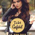 TAKTGEFÜHL 16. SEPTEMBER 2017