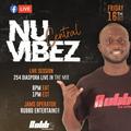 NU VIBEZ FACEBOOK LIVE MIX-RUBBO ENTERTAINER