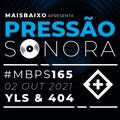 Pressão Sonora #165 - 2021-10-02