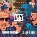My Soul Radio Show 026 / Guest Mix by Louie B (UK) / @ Club Dance Radio / 2020/03/11 / Viktor Bondar
