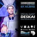 DESKAI Guest Mix - Resistance Radio - Bassdrive Radio 07.10.16