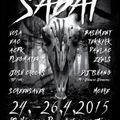 SABAT 2015 - open air free soundsystem party