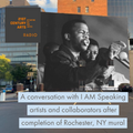 DeGuzman chats with I AM mural series artists and collaborators about I AM SPEAKING and more