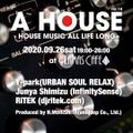 [Live DJMix] A HOUSE Vol.18 at Alamas Cafe (Shinjuku) - 09.26.2020 Part2