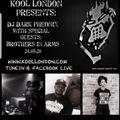 brothers in arms live kool london . t flex & dj rizzla 24th august 2020