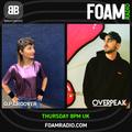 B Beats FOAM Radio #20 OPGroover + Overpeak