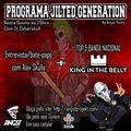 Programa Jilted Generation na Angst Radio Edição 21 - Entrevista com Alex Skulla + King In The Belly