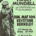 Hugh Mundell Live / Keystone / Berkeley, CA / May 30, 1982