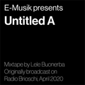 Untitled A Mixtape by Lele Buonerba