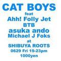 "Live Miix @ CATBOYS ""Kansyo-kai"" Shibuya Roots, on June 29, 2018"