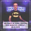 DJ Luke - Live @ Club York // Kassel - 28.12.2019