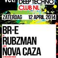 Nova Caza live @ vet! Club NL Amsterdam 12-04-2014