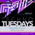 Techno Tuesdays 175 - Sinestro - August 2021