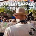 Markus Wesen live @ Schrebergarten (My B-Day Party) 25.09.11