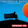 Throwback Radio #138 - DJ CO1 (R&B Mix)