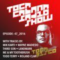 TOCACABANA RADIO SHOW 47_2016