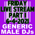 (Mostly) 80s & New Wave Happy Hour (Part 1) - Generic Male DJs - 6-4-2021