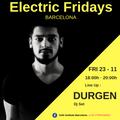 DURGEN Dj Set at Electric Fridays Barcelona