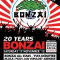 dj Yves De Ruyter @ 20 Years Bonzai Retro Party 17-11-2012
