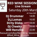 Red Wine Sessions- D.J.Lomas-20.3.21