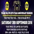 Warlock & MC Fusion @ Pulse 90.6 FM 25th Year Anniversary Reunion - Union Club London - 03.09.2016